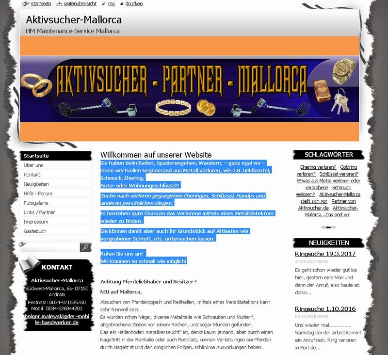 Aktivsucher Mallorc