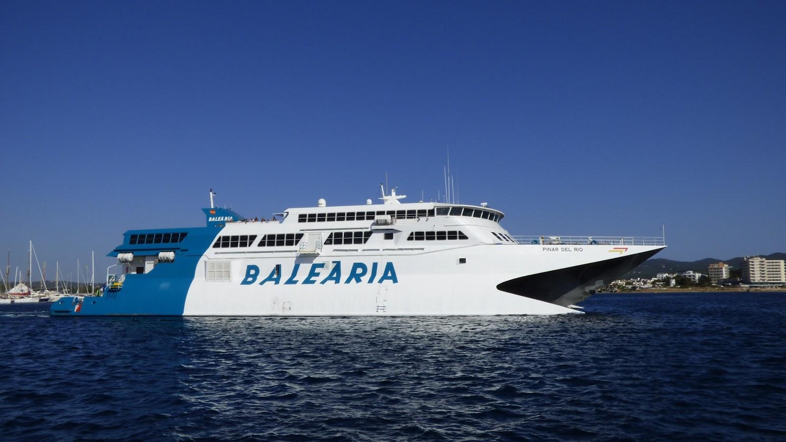 Fähre der Reederei Baleària - Pinar del Rio