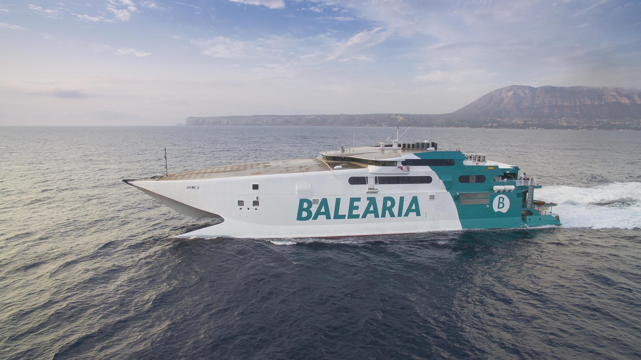 Jaume II - Reederei Baleària