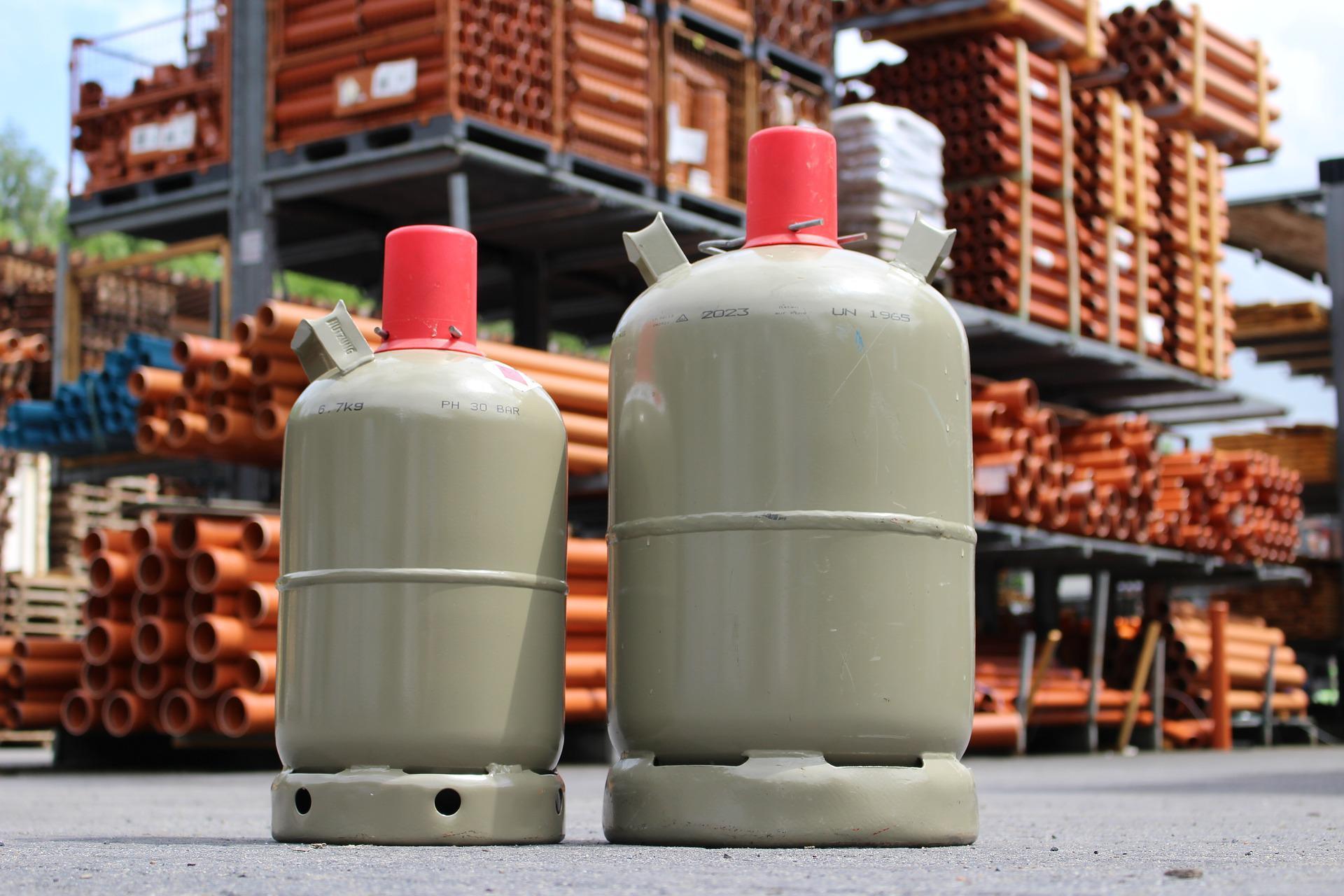 Butano - Butangas-Flaschen