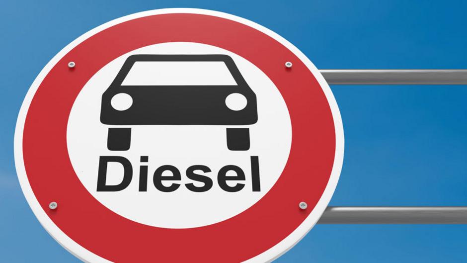 Verbot für Diesel-Fahrzeuge
