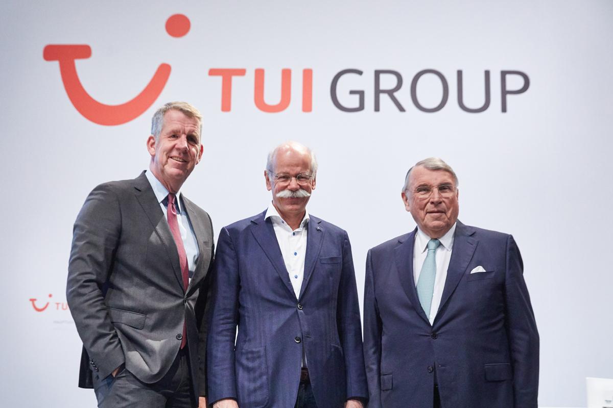 Fritz Joussen (Vorstandsvorsitzender), Dr. Dieter Zetsche (Aufsichtsratsvorsitzender), Prof. Dr. Klaus Mangold