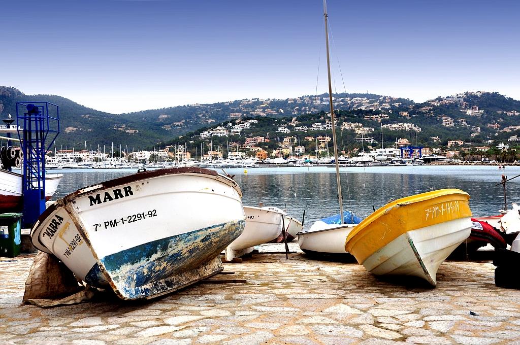 Fischerboote auf Mallorca
