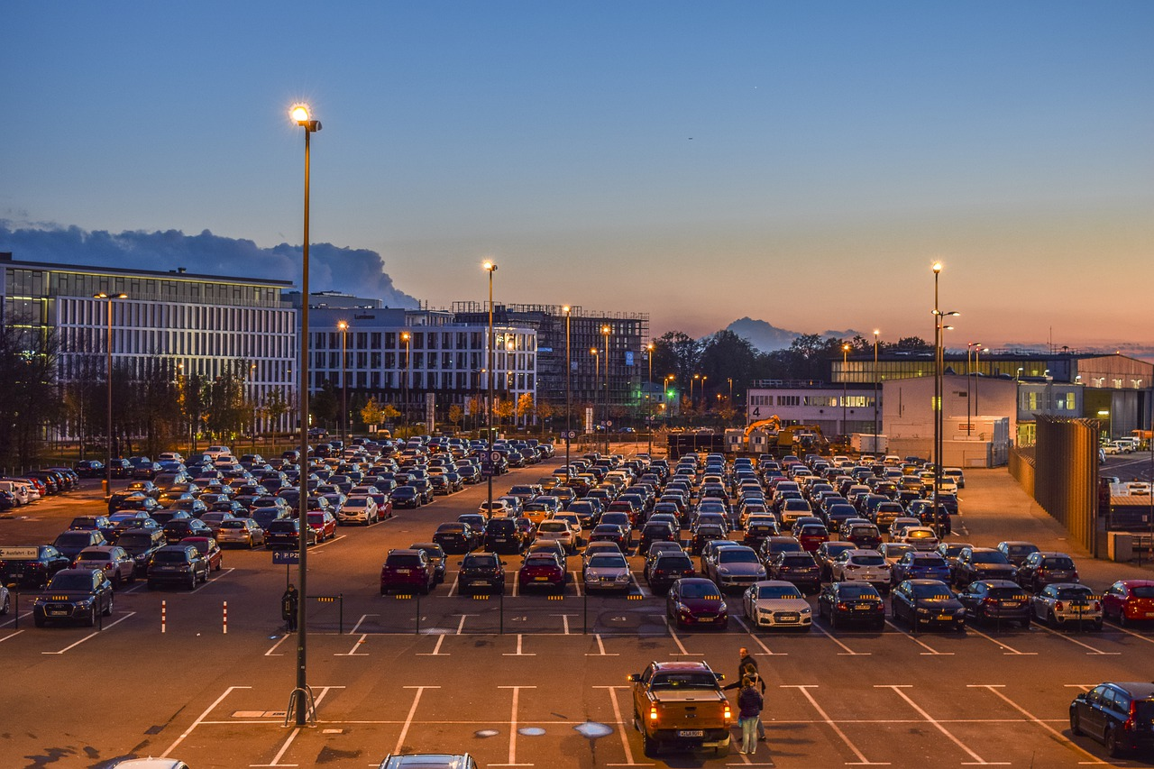Parkmöglichkeiten am Flughafen München