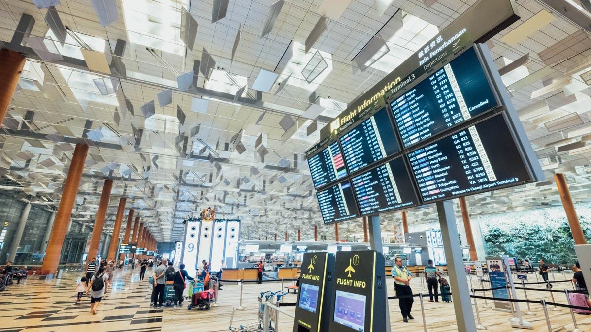 Kontrollen am Flughafen