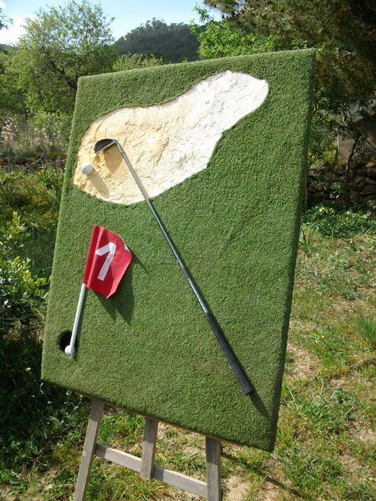 Golfkunst auf Mallorca