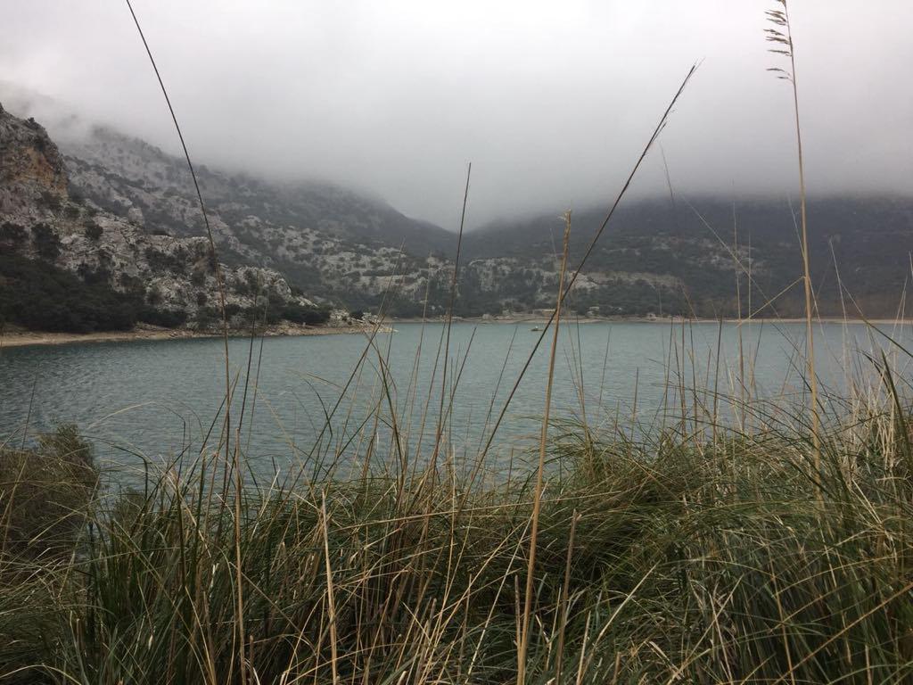 Mallorcas Stausee Gorg Blau