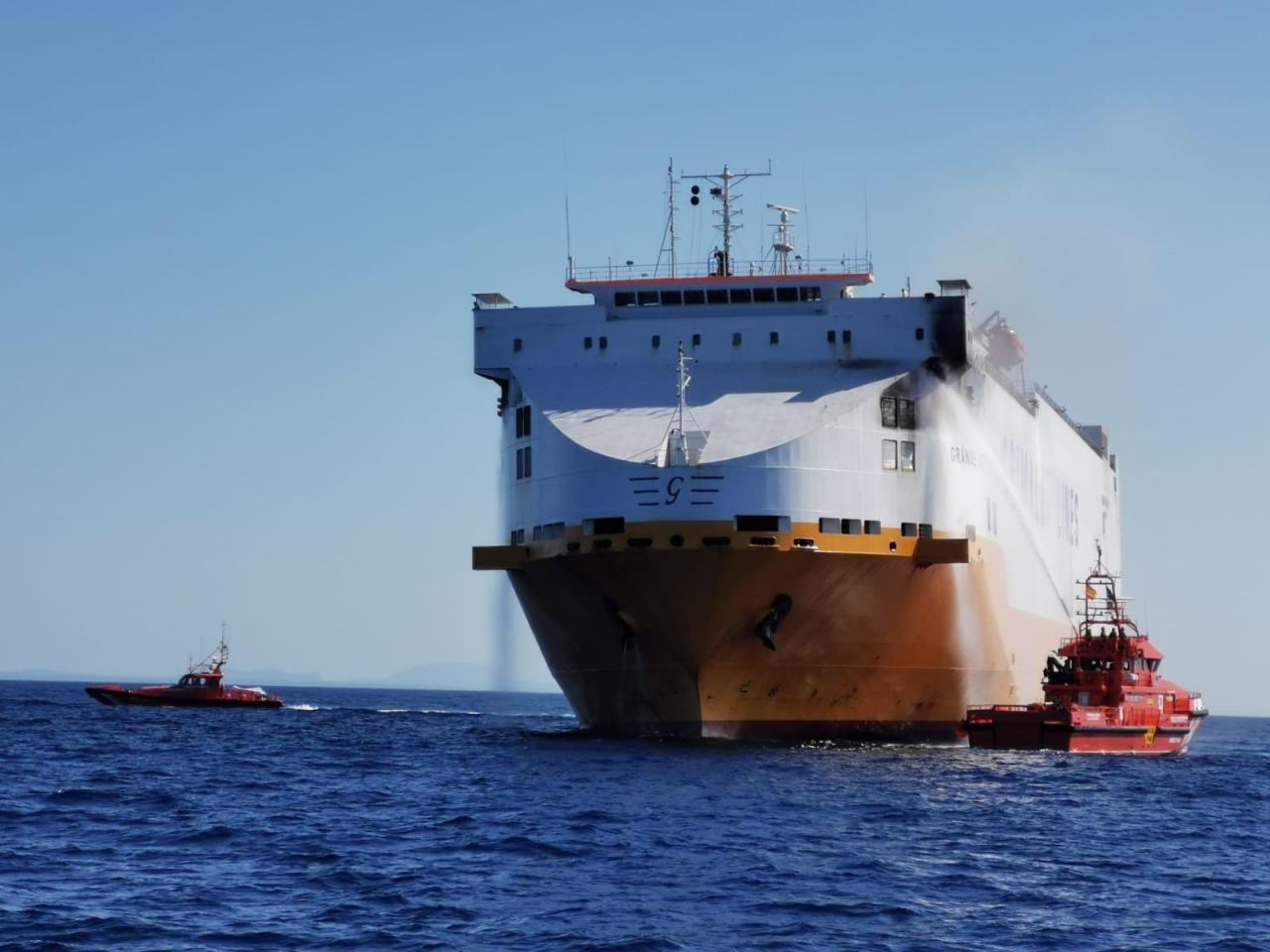 Frachtschiff Grande Europa