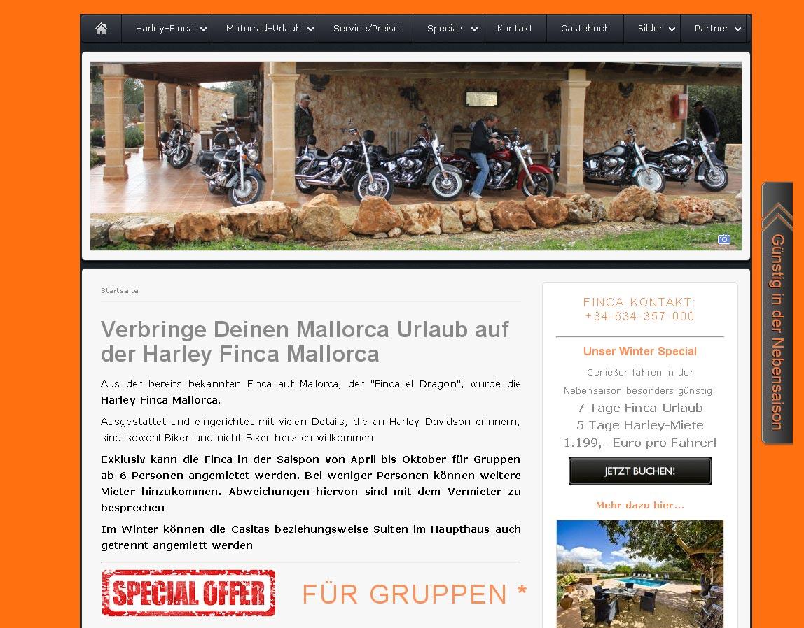 Harley Finca Mallorca