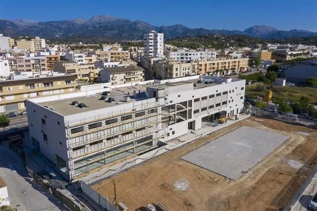 Arbeiten am neuen Hospital Sant Joan de Déu de Inca werden im September abgeschlossen sein