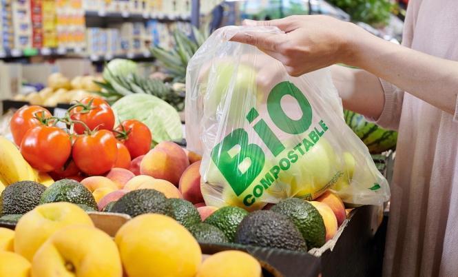Neue Beutel für Obst und Gemüse bei Lidl auf Mallorca