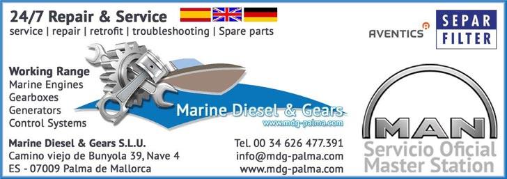 MDG-PALMA | Marine Diesel & Gears