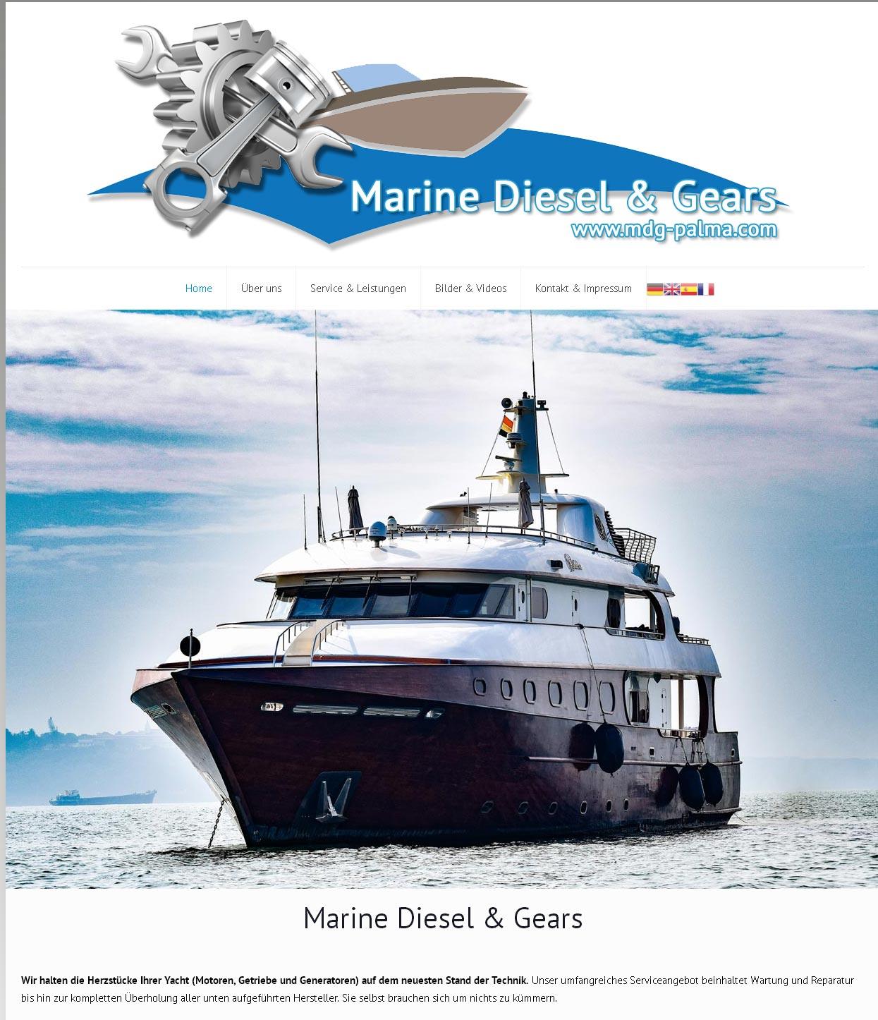MDG Palma - Marine Diesel & Gears Palma