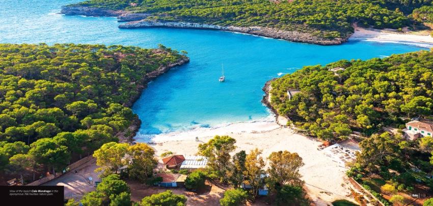 Luftaufnahme Mallorca Bucht