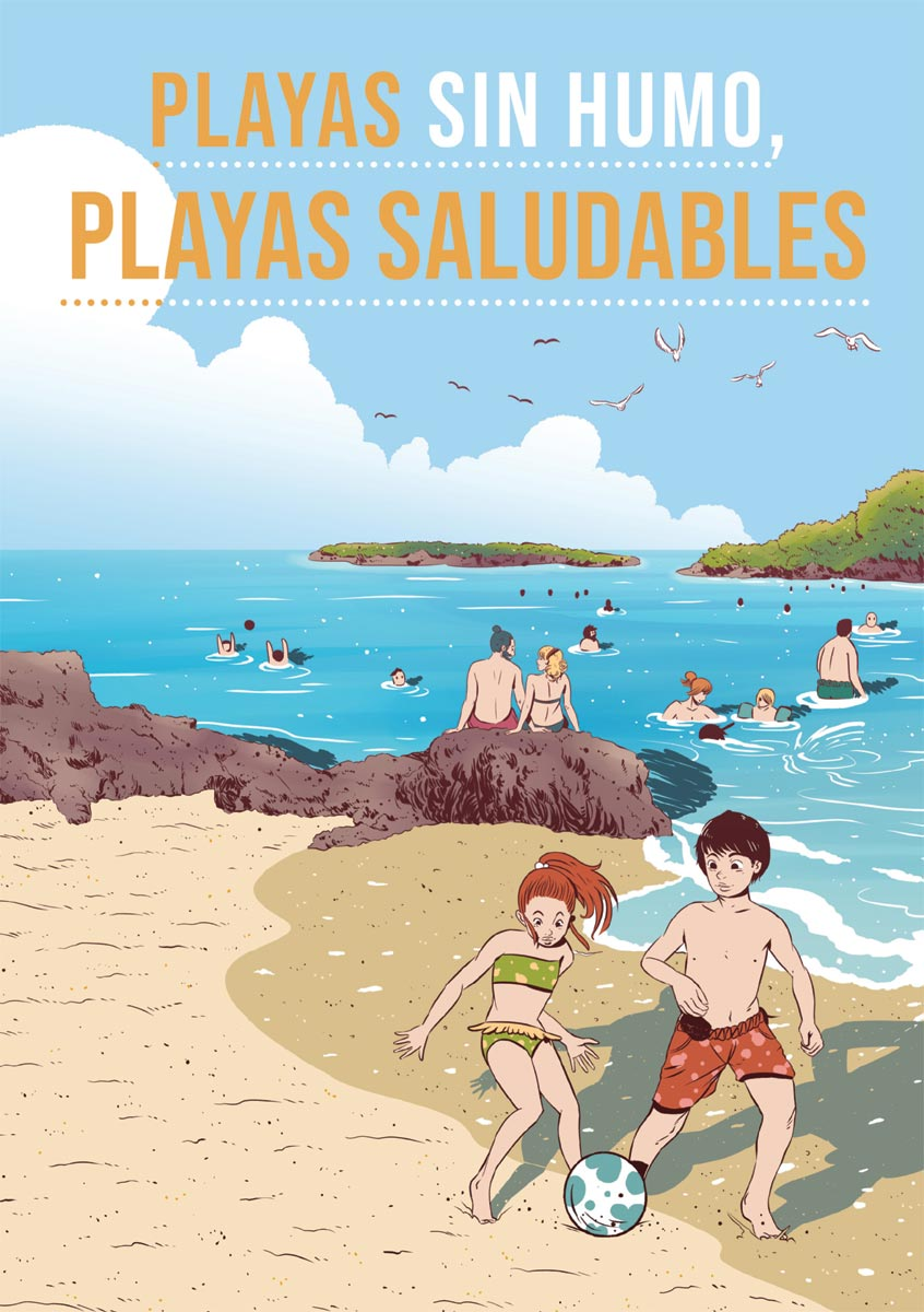 Playas sin Humo - Playas saludables