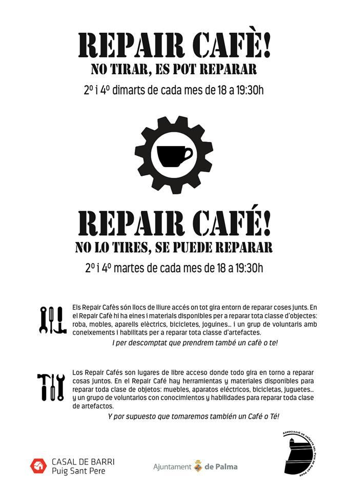 Ab sofort in Palma - Repair Café