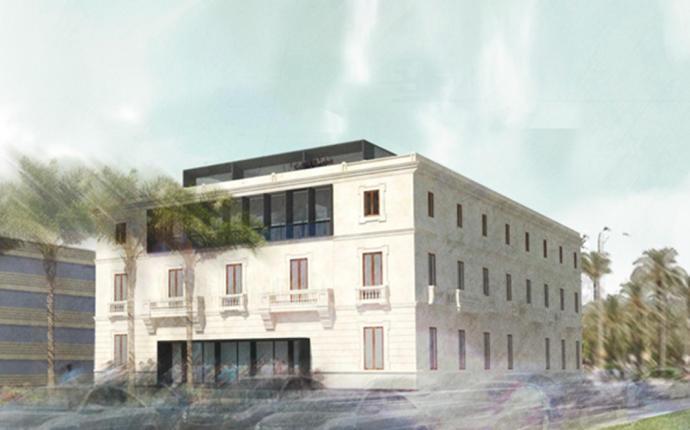 Neuer Sitz der Hafenbehörde