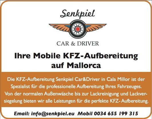 KFZ Aufbereitung Senkpiel - Car&Driver Cala Millor