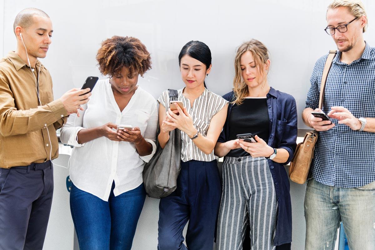 Smartphone-User der Generation Z