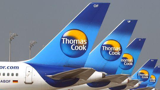 Flugzeuge der Airline Thomas Cook