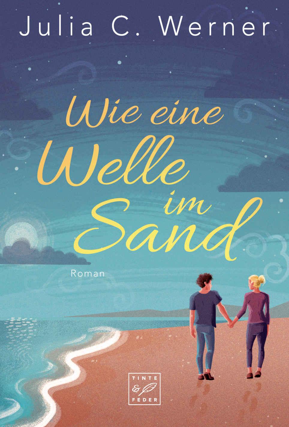 Wie eine Welle im Sand