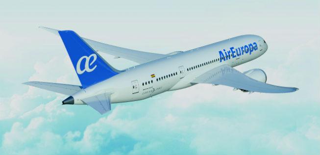 Flugzeug der Airline AirEuropa
