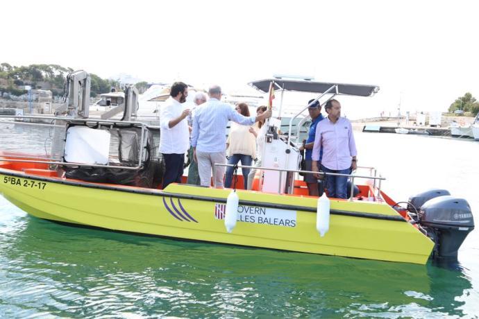 Müllboote auf Mallorca