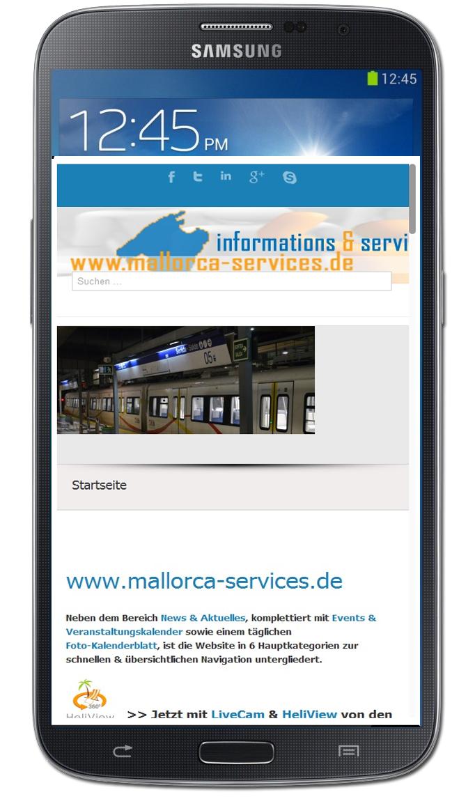 mallorca-services.de | App für Smartphones & Tablets