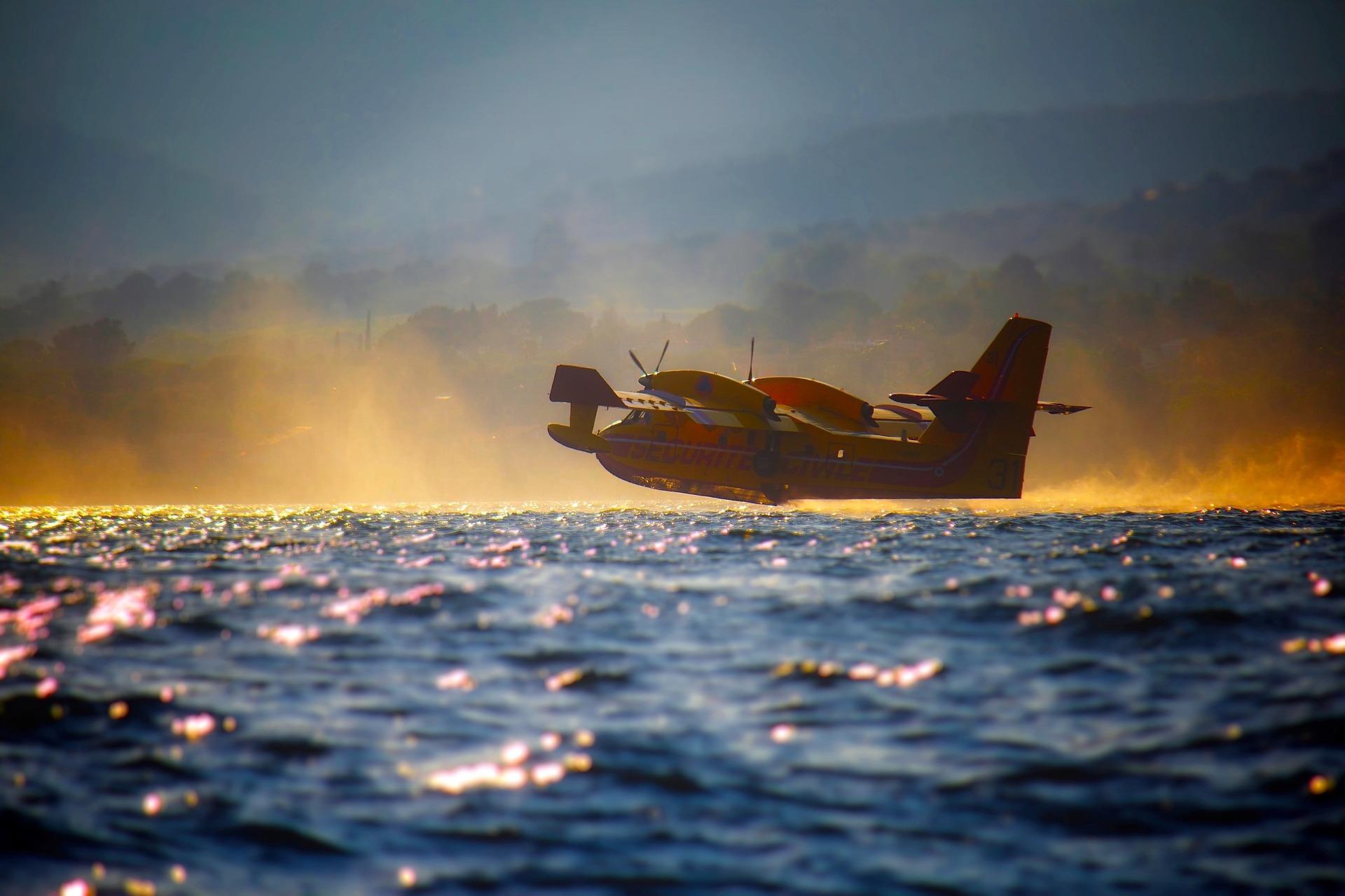 Wasserflugzeuge in Port de Pollença